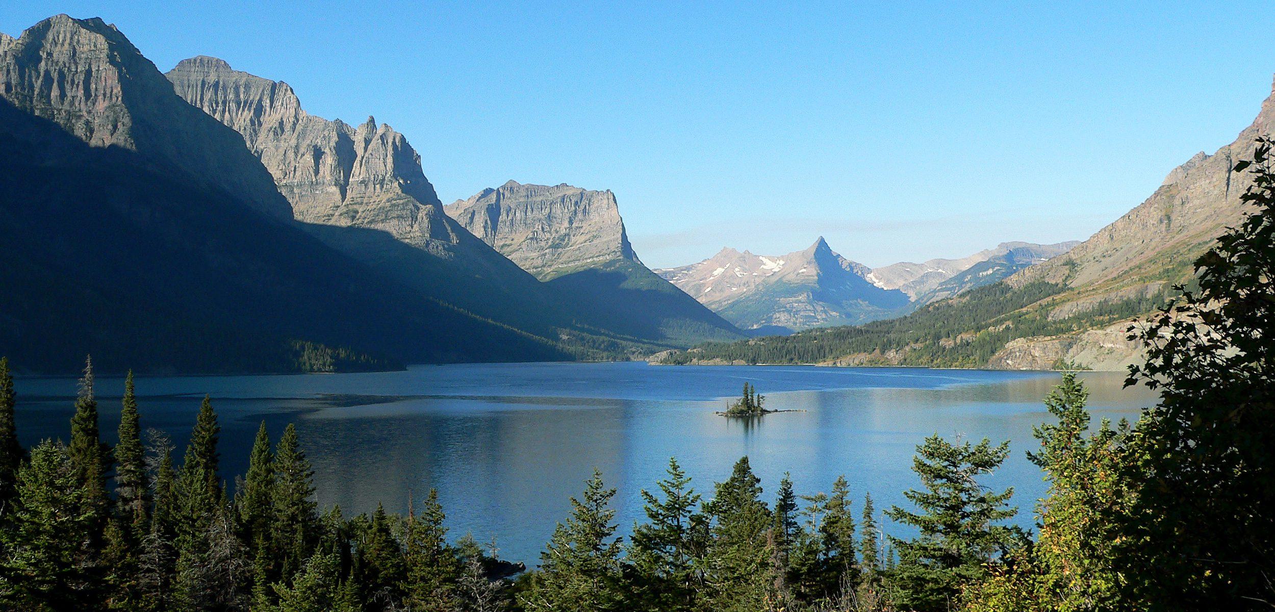 St. Mary Lake Shining