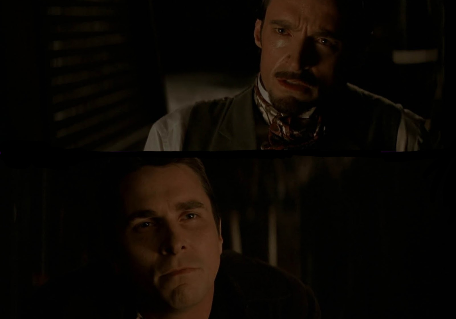 Who dies at the ending of The Prestige
