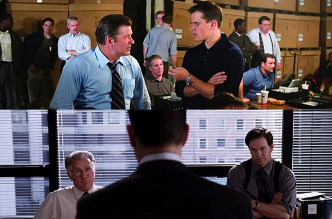 The departed cast
