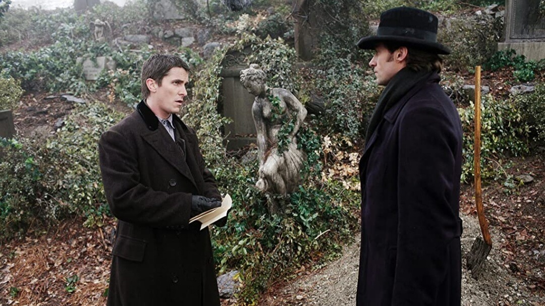 Does Angier die in the ending of the prestige