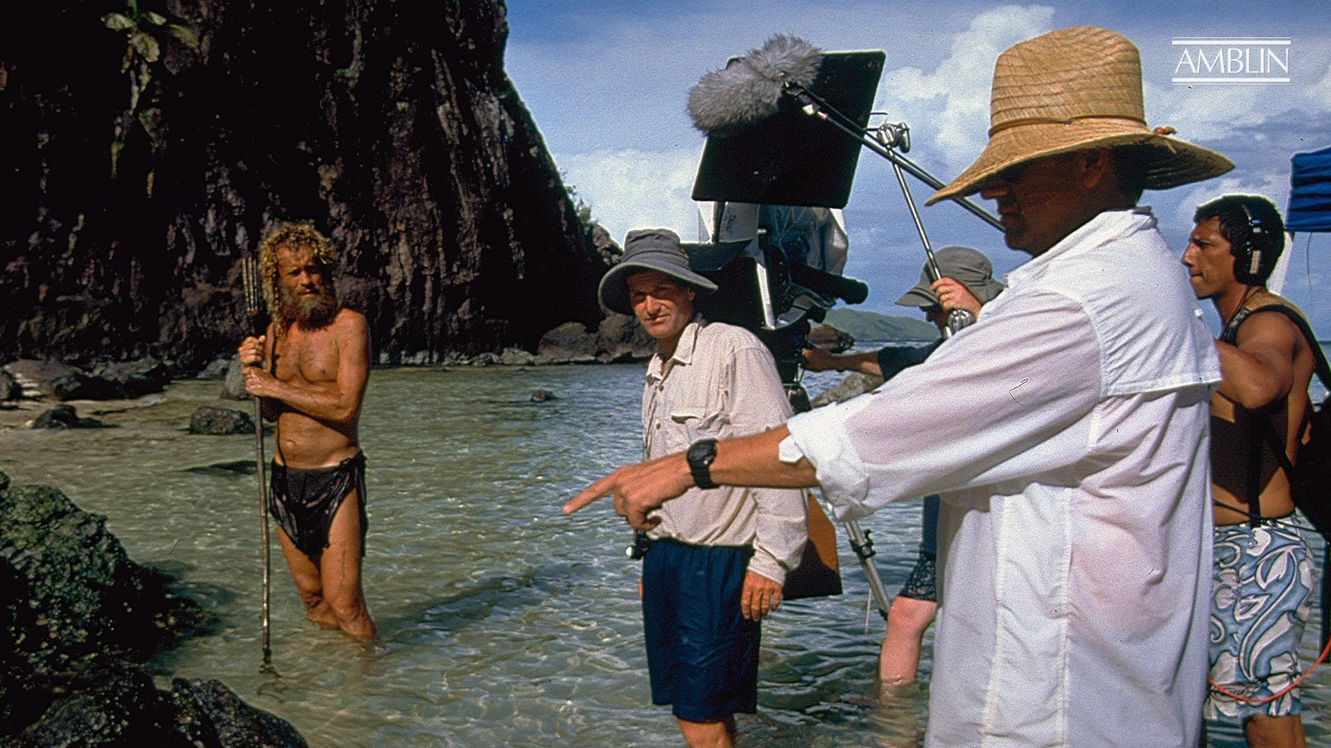 The shooting of Cast Away