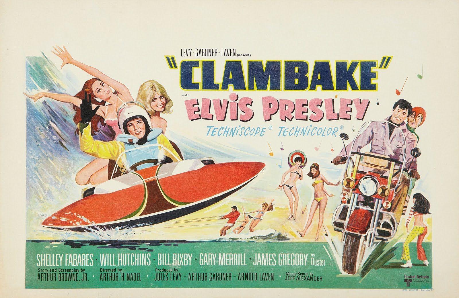 where was clambake filmed