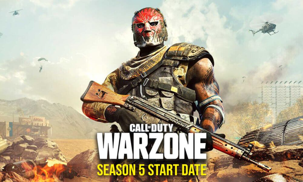Call Of Duty: Warzone Season 5 release date