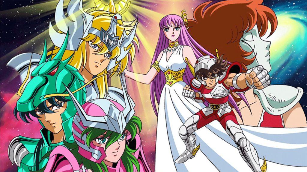 Saint Seiya, anime like JoJo
