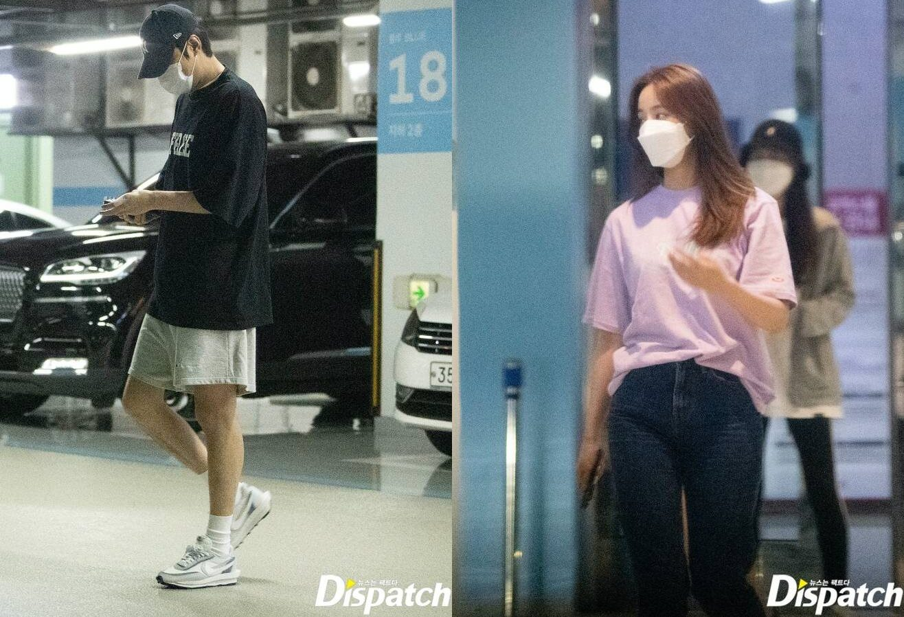 Lee min Ho and Yeonwoo dating