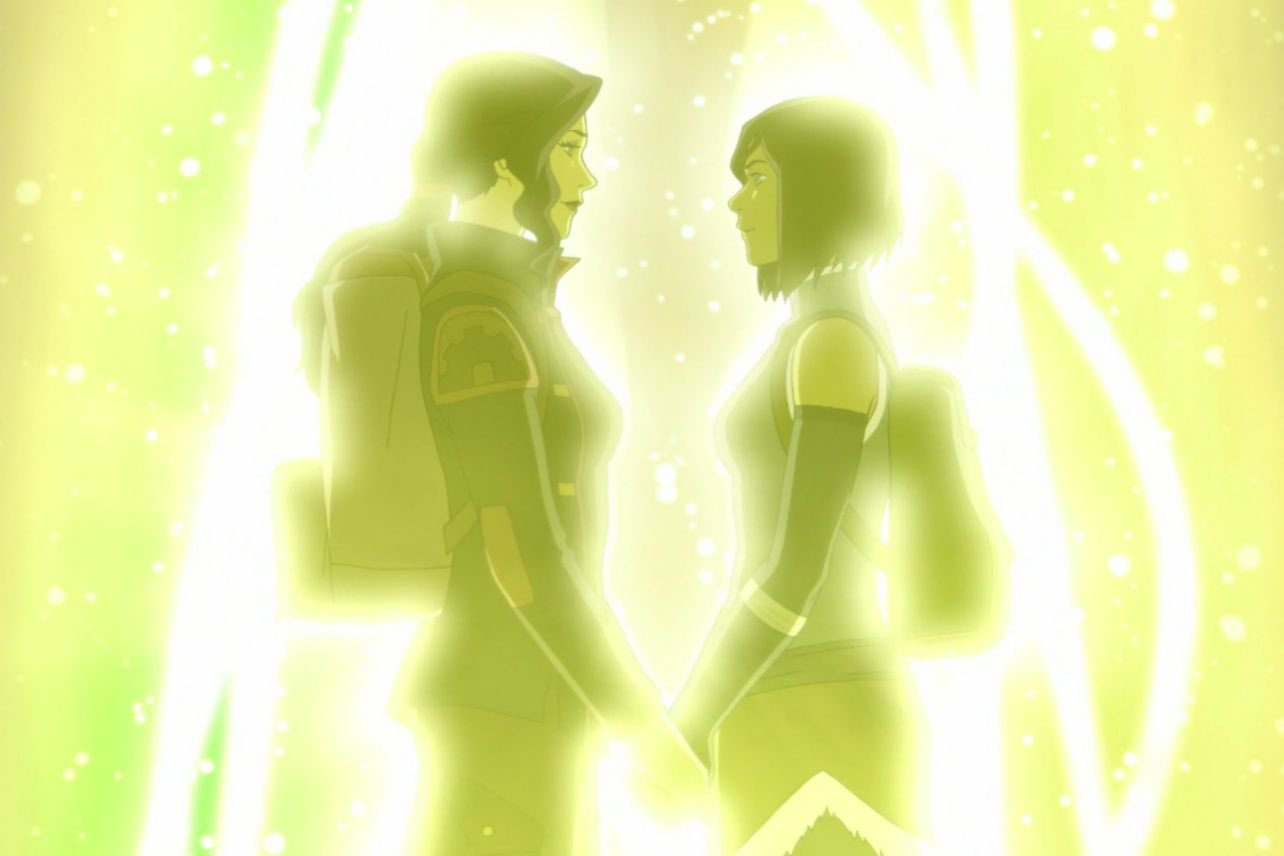 who does korra end up with