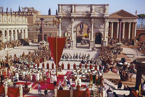 Cleopatra Film Location