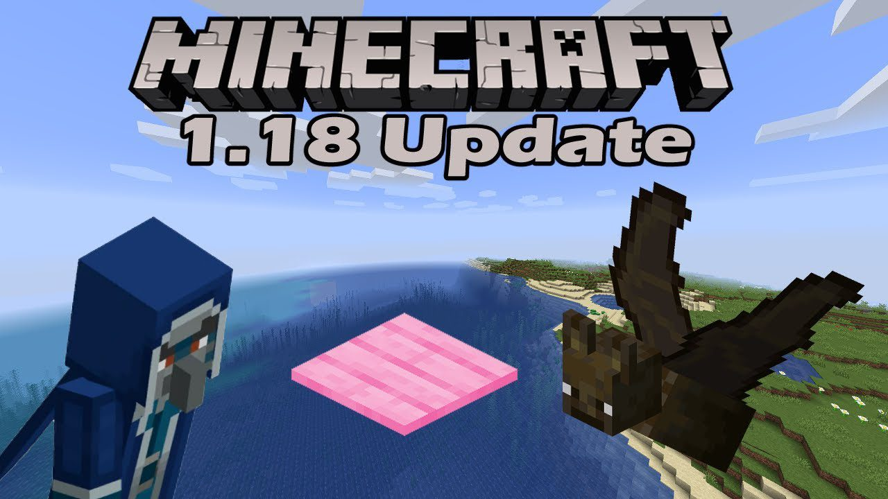 Minecraft Caves And Cliffs Update 1.18