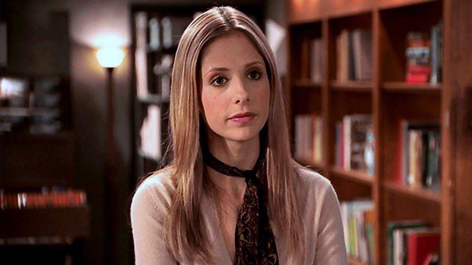 Who does Buffy end up