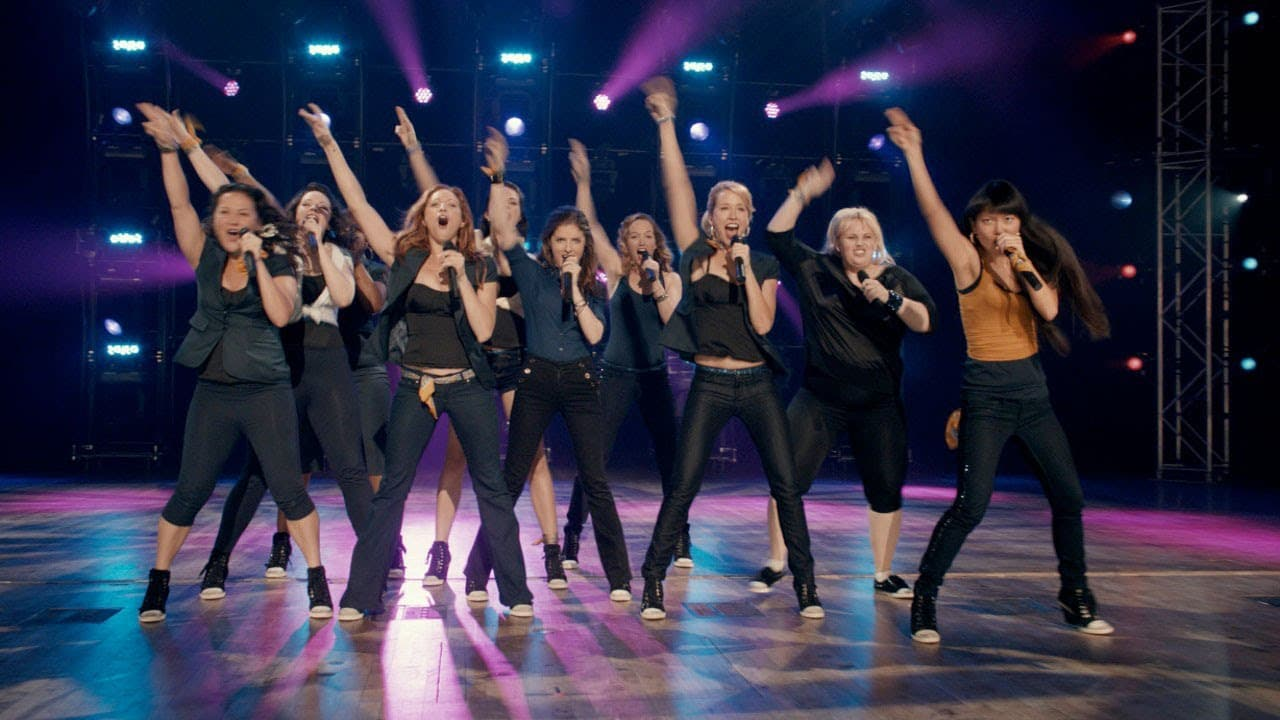 Pitch Perfect filming