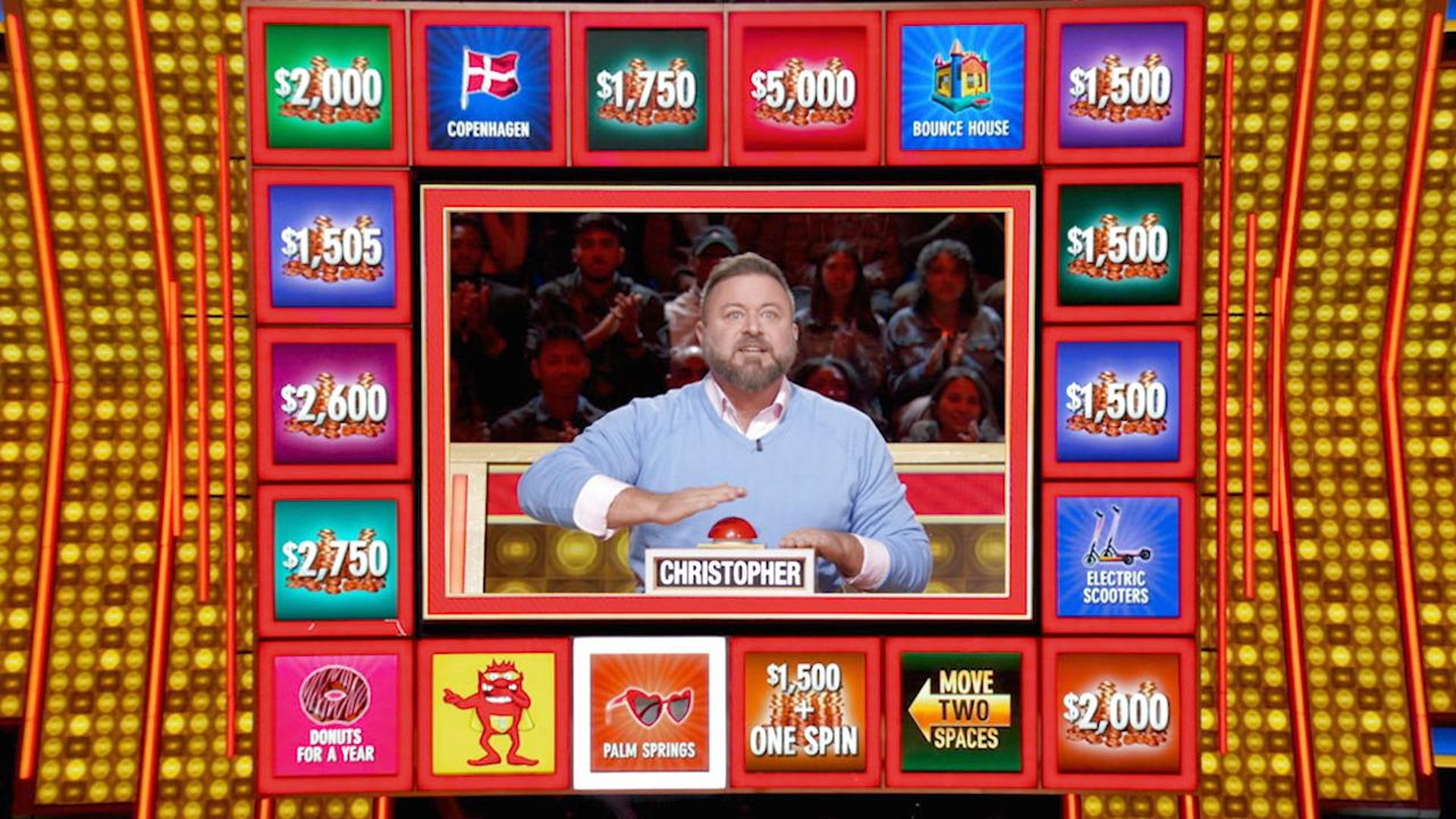 Where is press your luck filmed