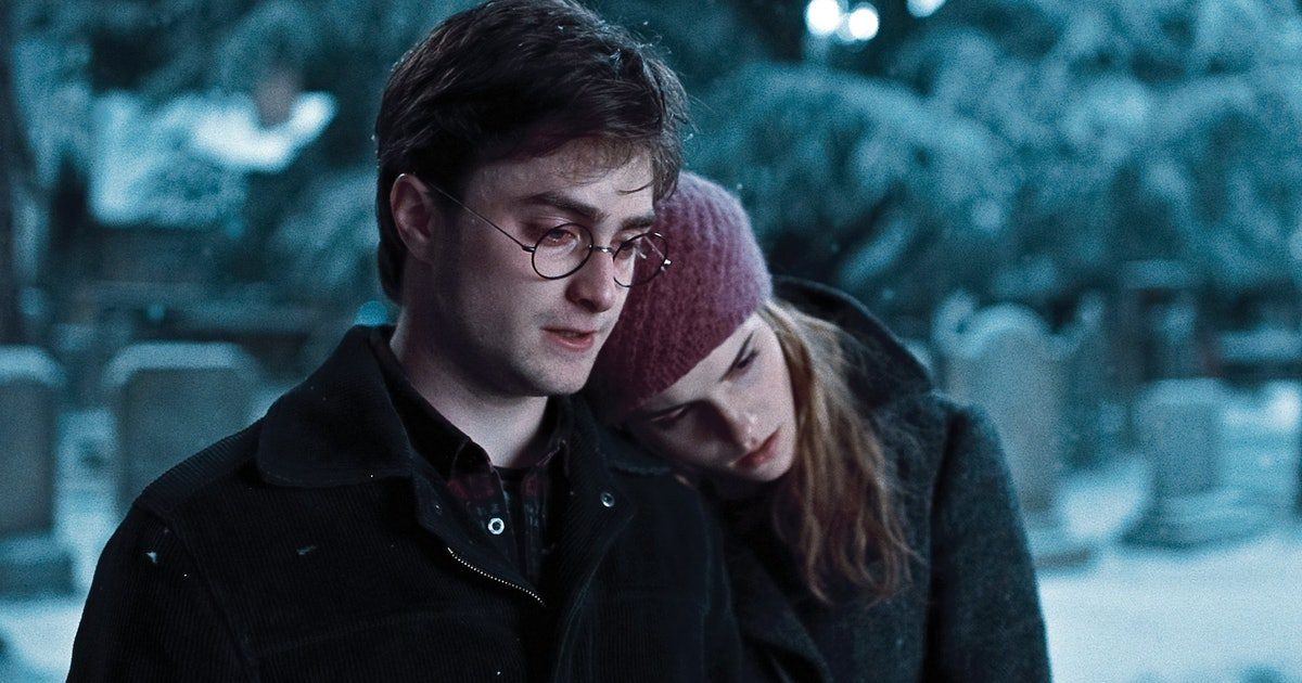 Who does Hermoine end up with