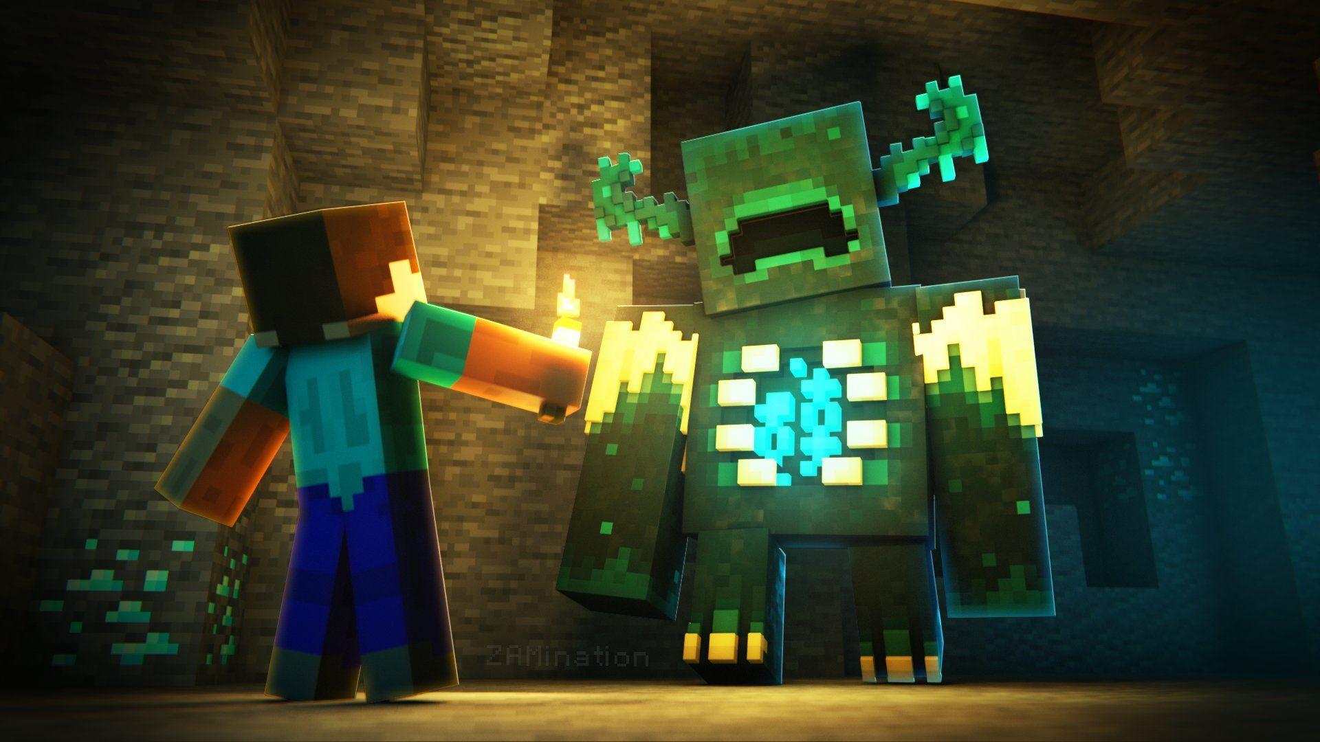 Minecraft- The Warden
