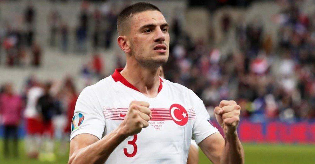 Merih Demiral from Turkey