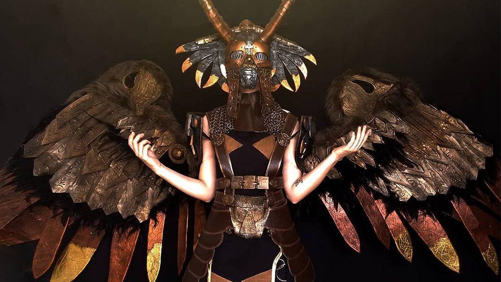 Manoela Castejon's Valkyrie Gunnr Cosplay, Best God Of War Cosplay Ever