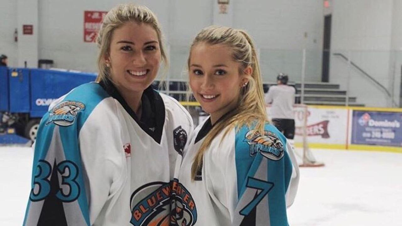 Mikayla with teammate