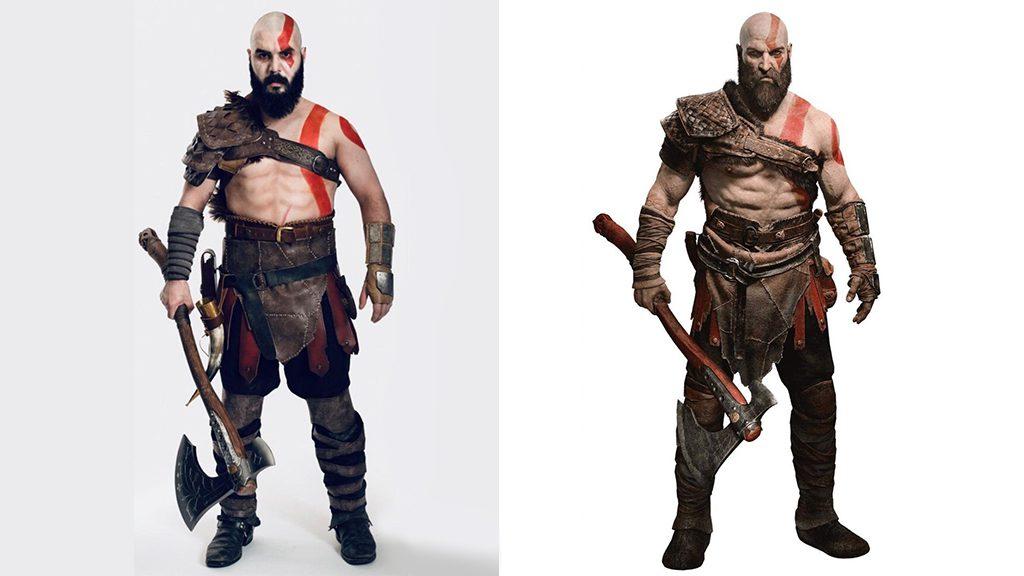 Joey Pinto's Kratos Cosplay