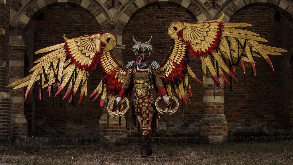 Skathi's Valkyrie Geirdriful cosplay, Best God Of War Cosplay Ever