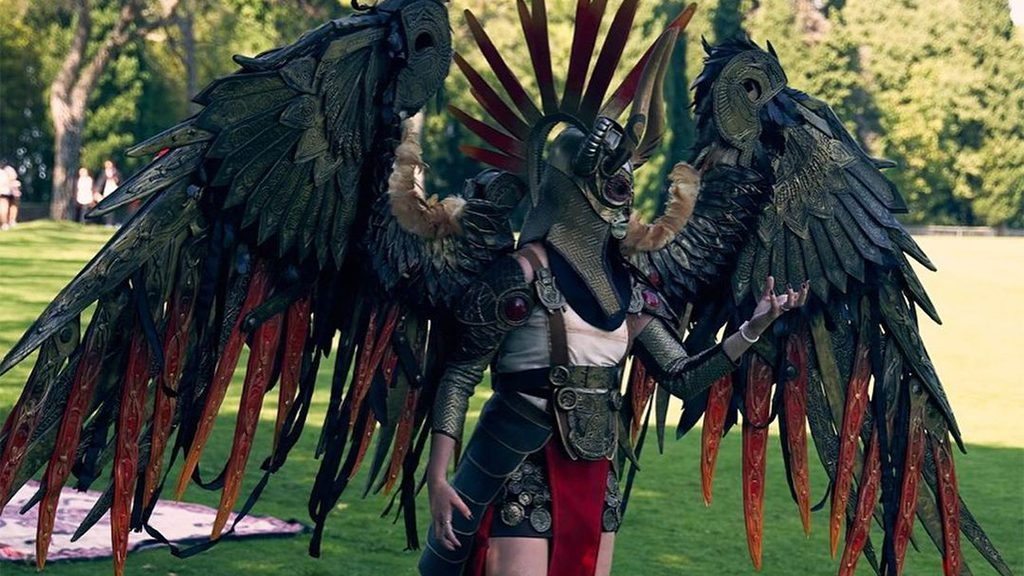 Burrovolo's Valkyrie Gondul cosplay.