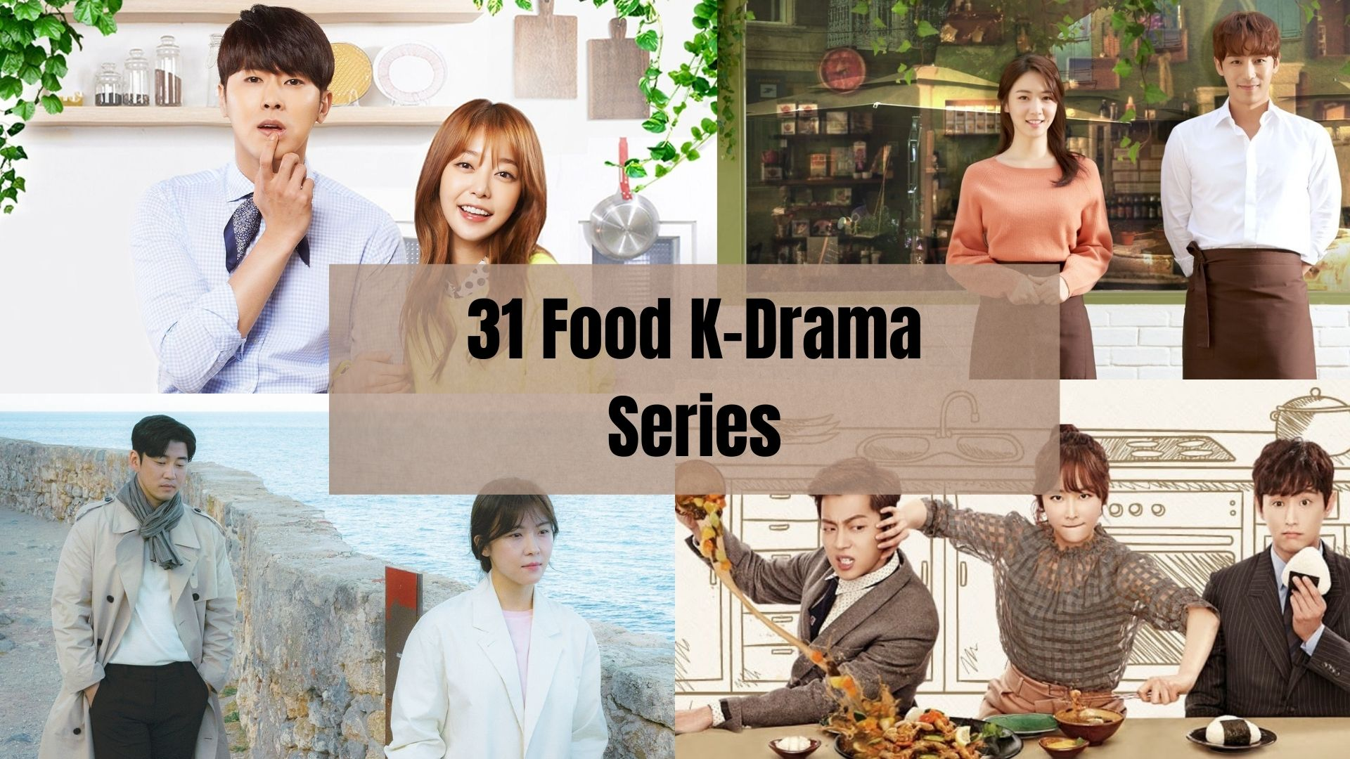 31 Best Food Korean Drama Series to Watch: Check Them Out!