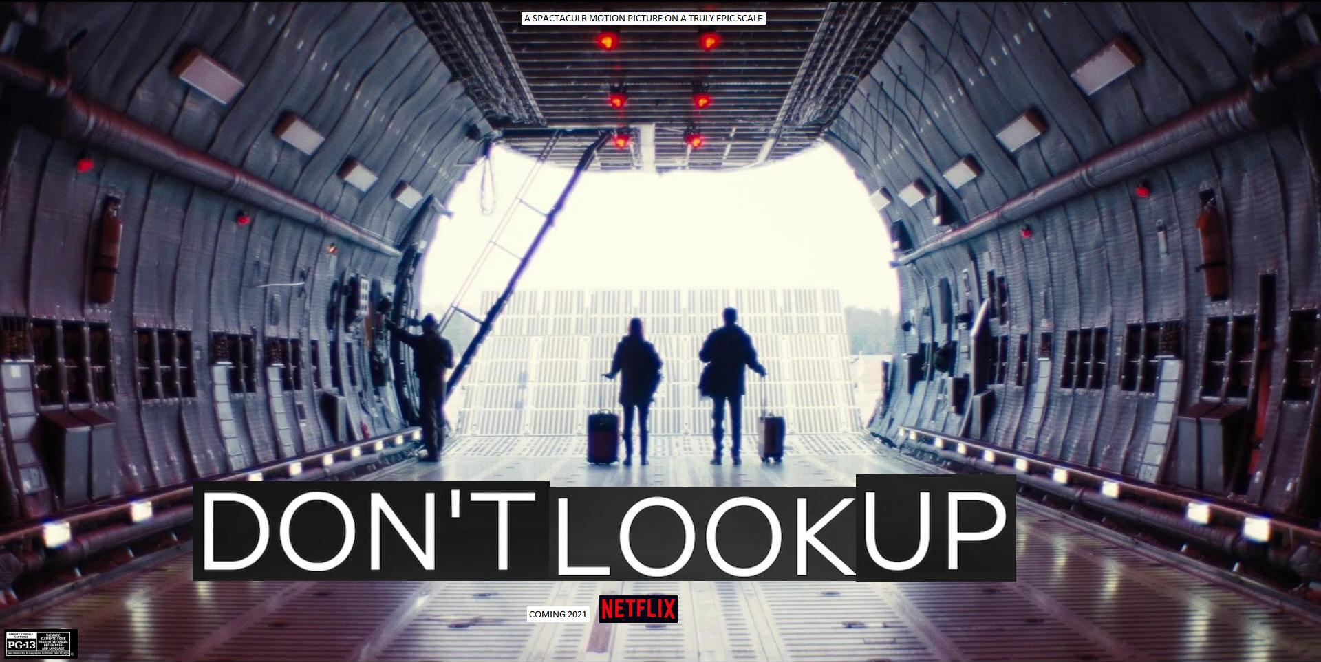 Don't Look Up on Netflix