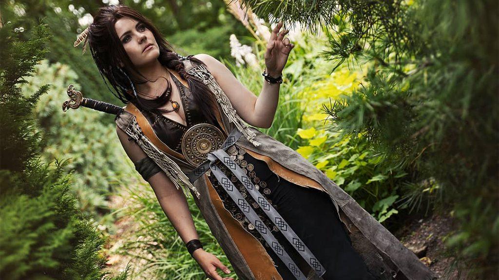 Ibelinn's Freya cosplay.