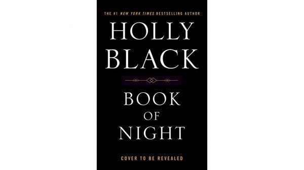 Book of Night book Release Date