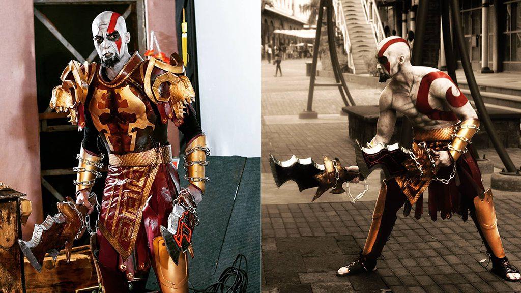 FredWolf's Kratos Cosplay, Best God Of War Cosplay Ever