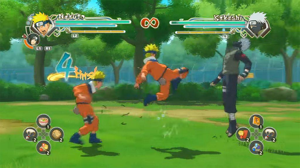 Best Naruto Games to Play - Naruto Shippuden: Ultimate Ninja Storm Generations
