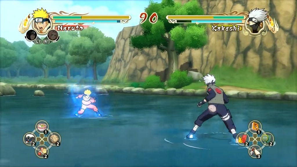 Best Naruto Games to Play - Naruto: Ultimate Ninja Storm