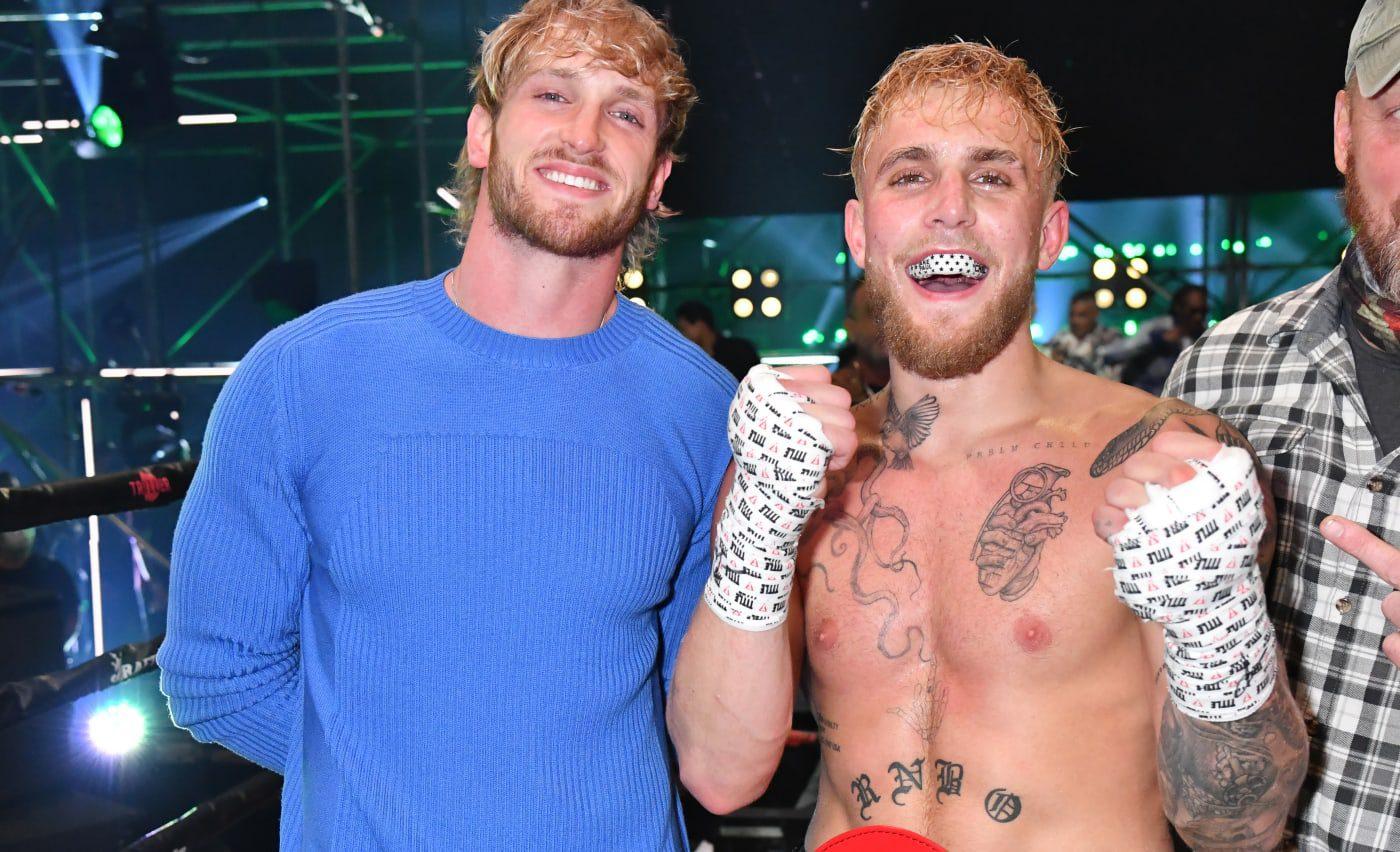 Jake Paul vs Logan Paul