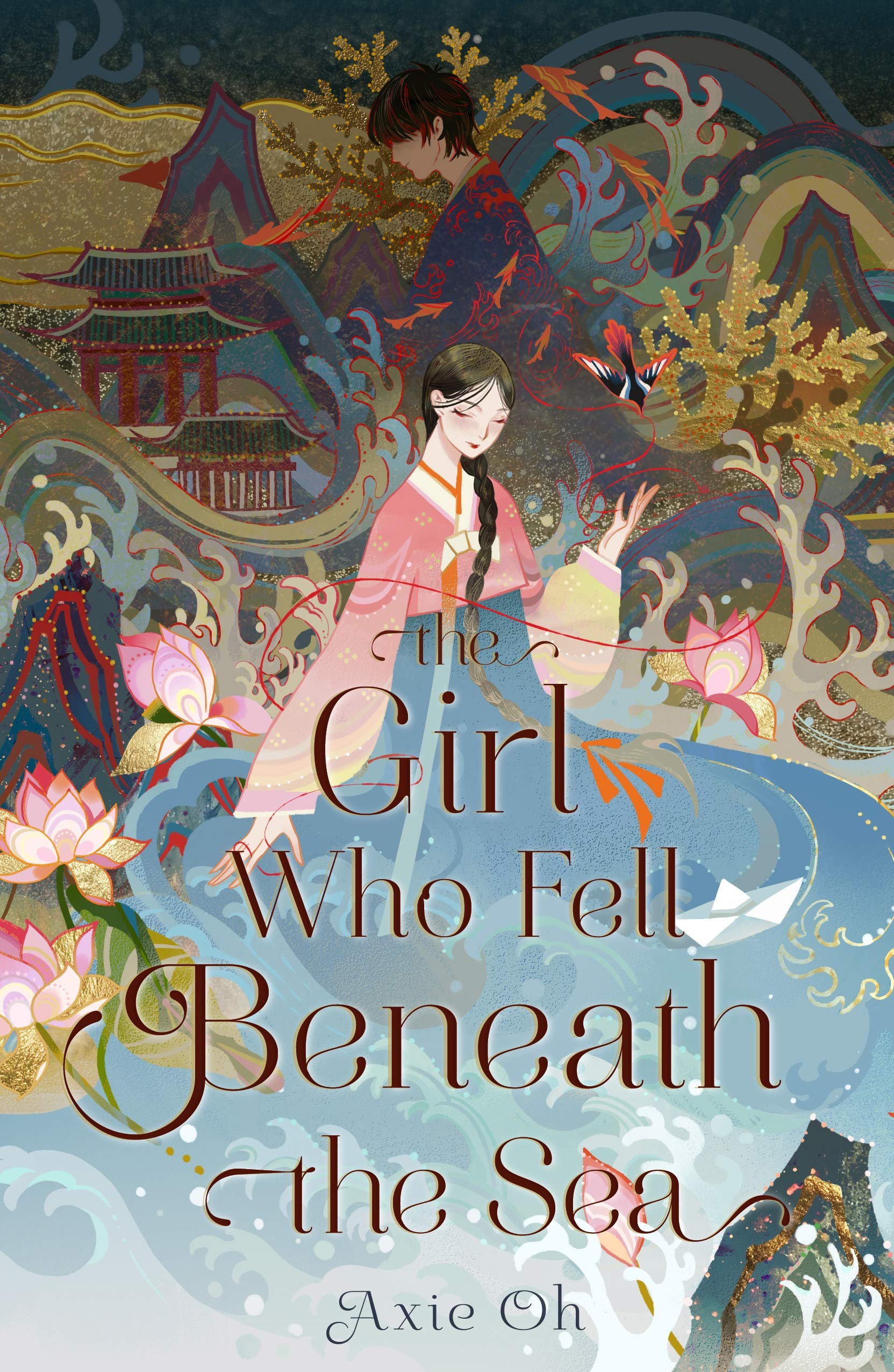 The Girl Who Fell Beneath The Sea book Release Date