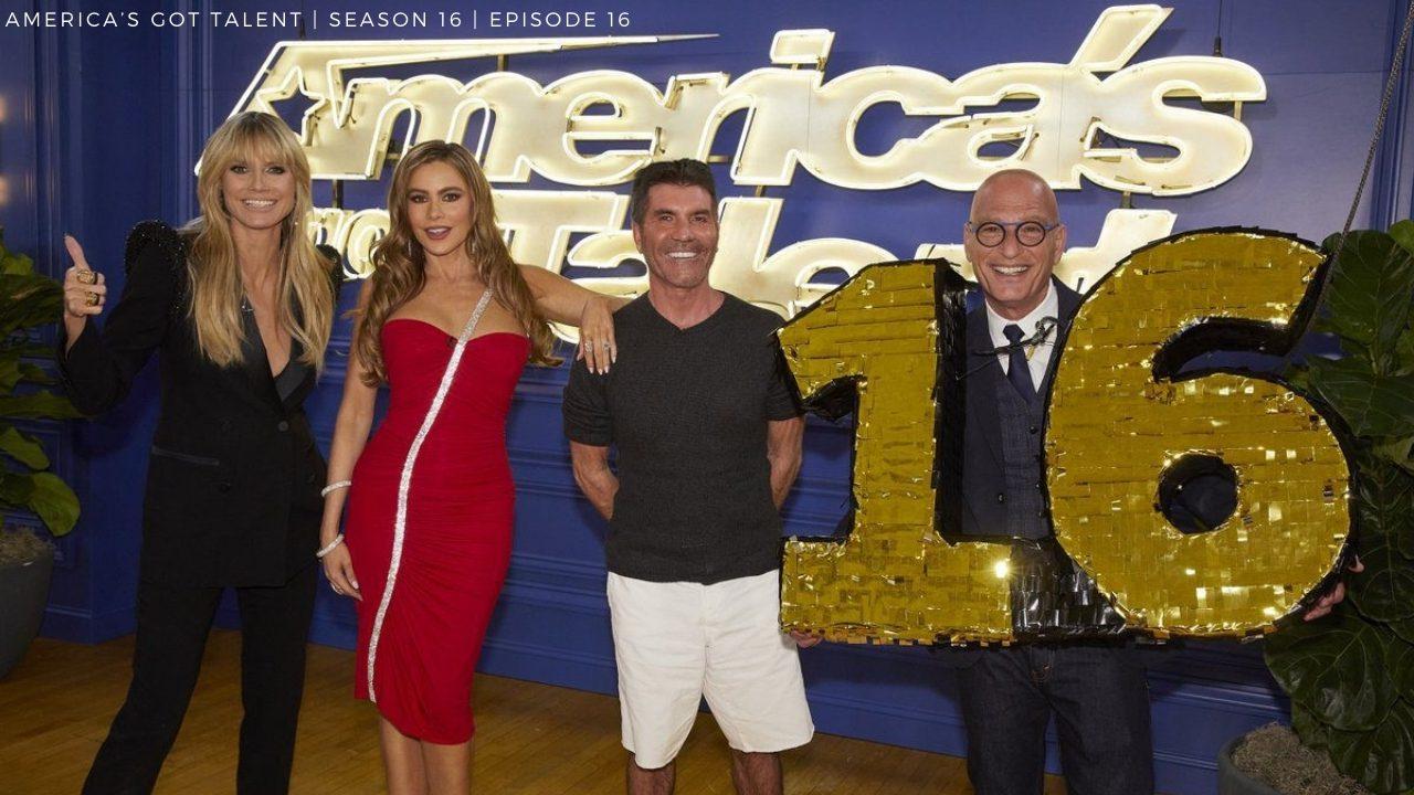 America's Got Talent Season 16 Episode 16