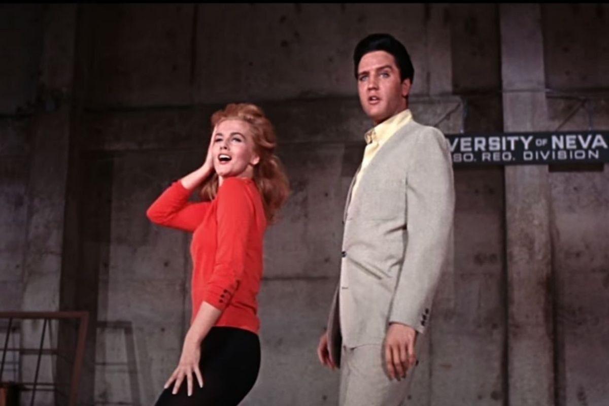 Ann Margret with Elvis Presley