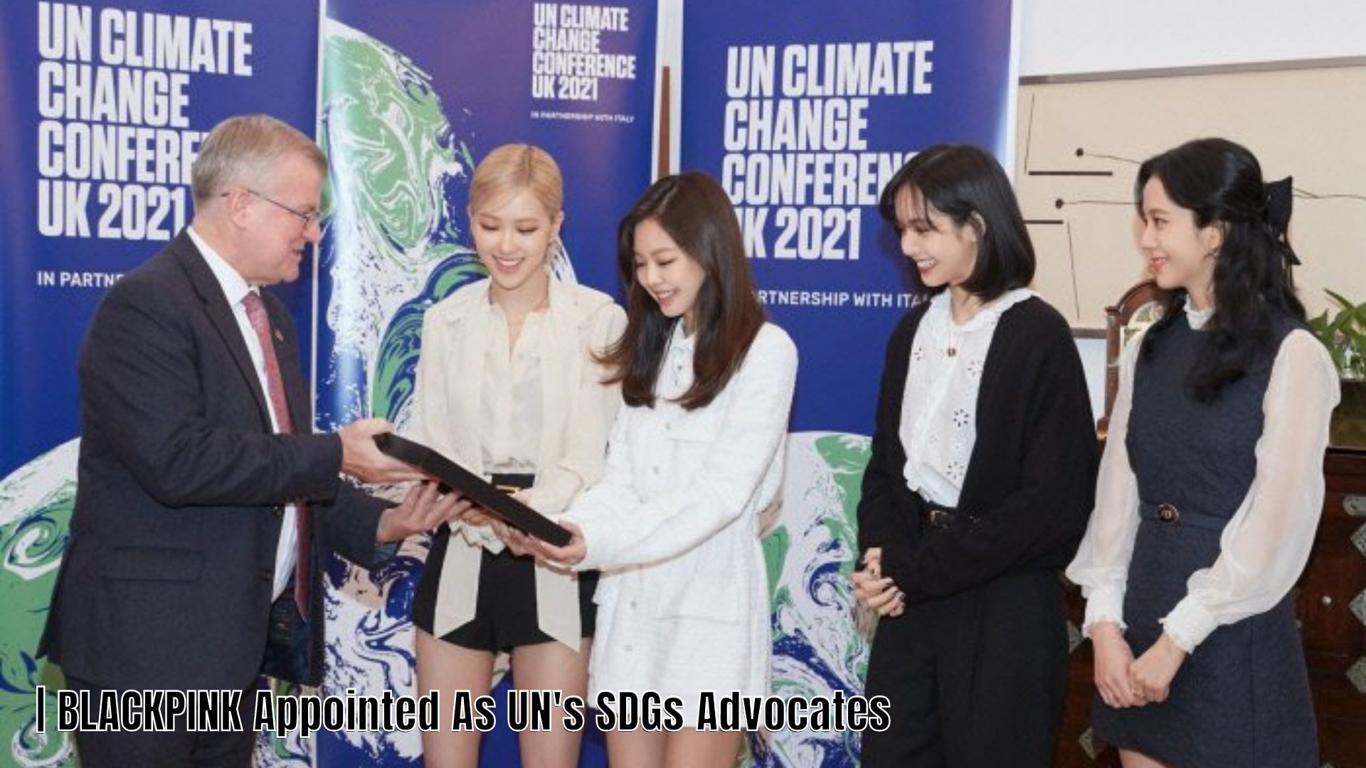 BLACKPINK Appointed as UN Sustainable Development Goals Advocates