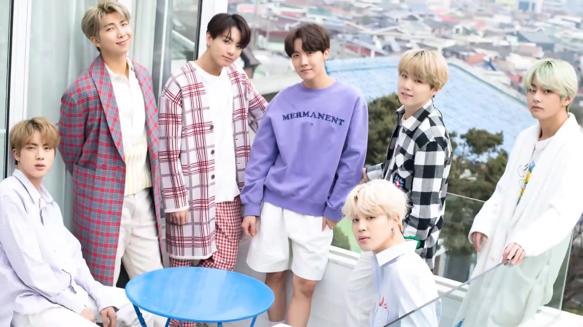 BTS Friends must fly out release date