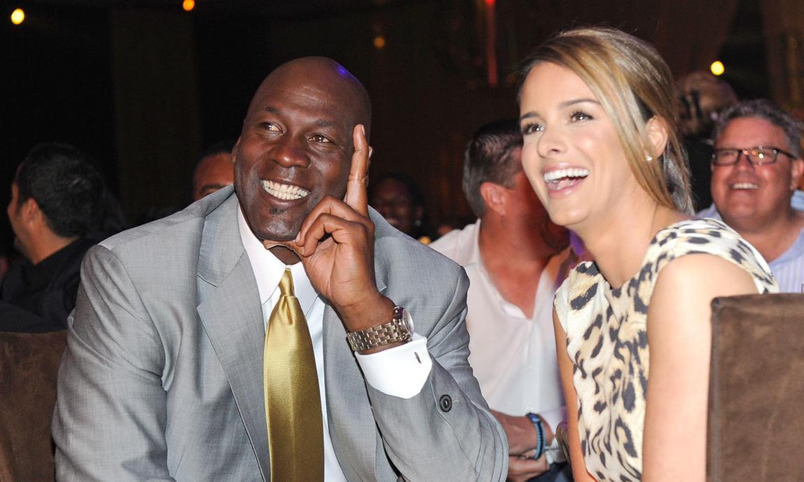 Michael Jordan And His Wife