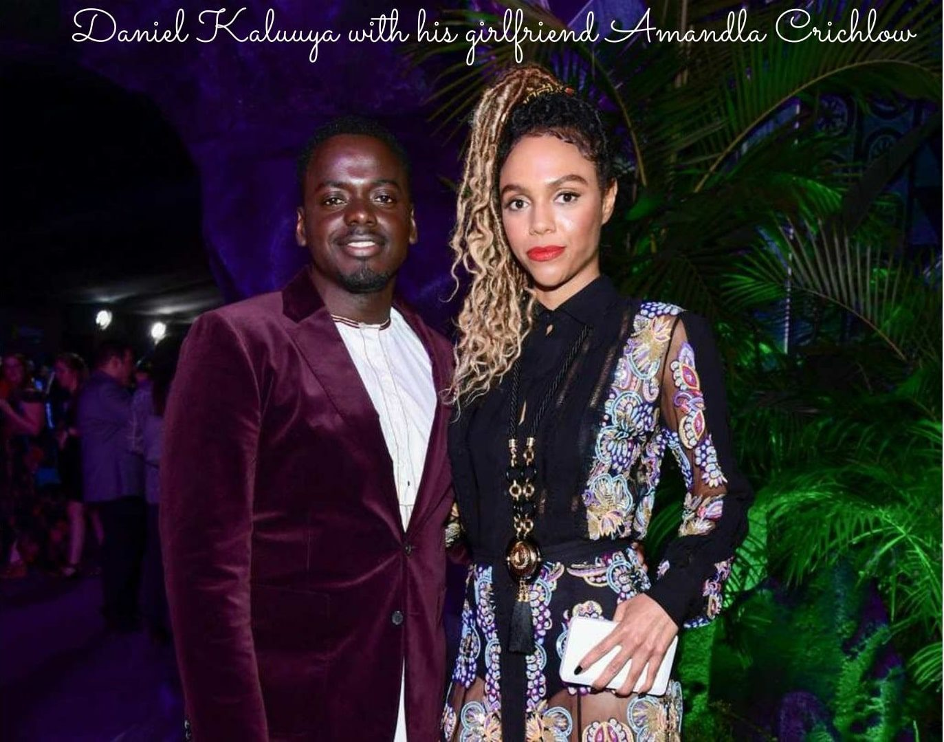 Daniel Kaluuya and Amandla Crichlow