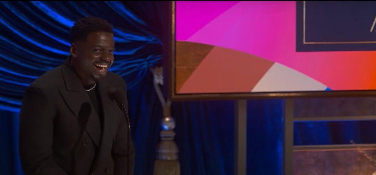 Daniel Kaluuya at Oscars