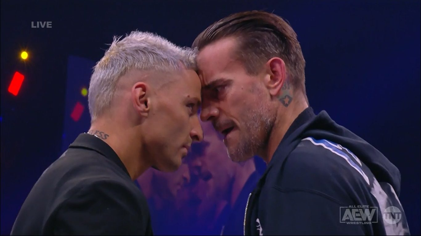 Darby Allin Comes Face To Face WIth CM Punk and Chicago Crowd