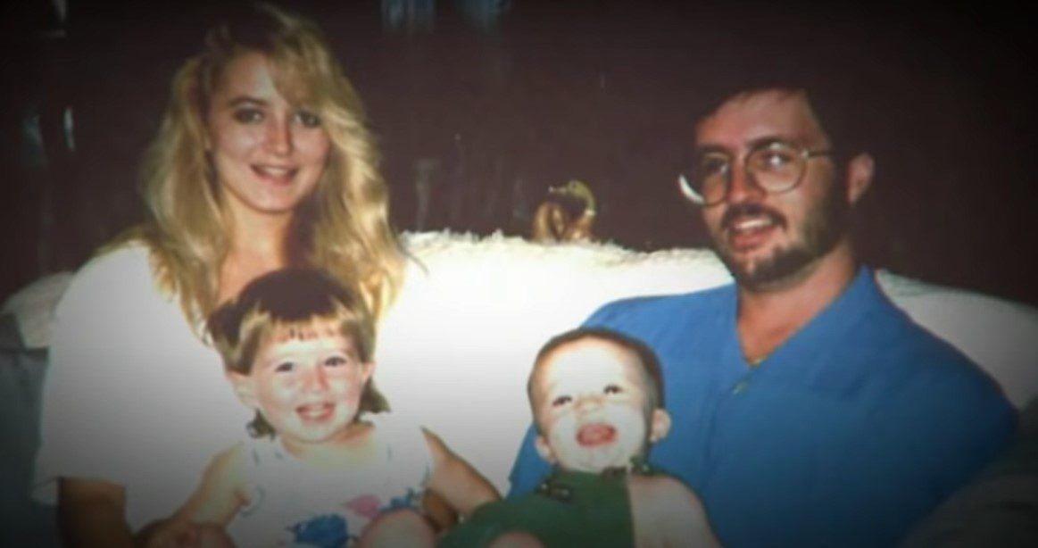 Darlie routier with her family