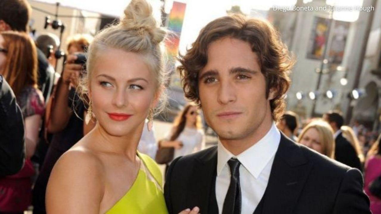 Diego Boneta was rumored to be dating Julianne Hough
