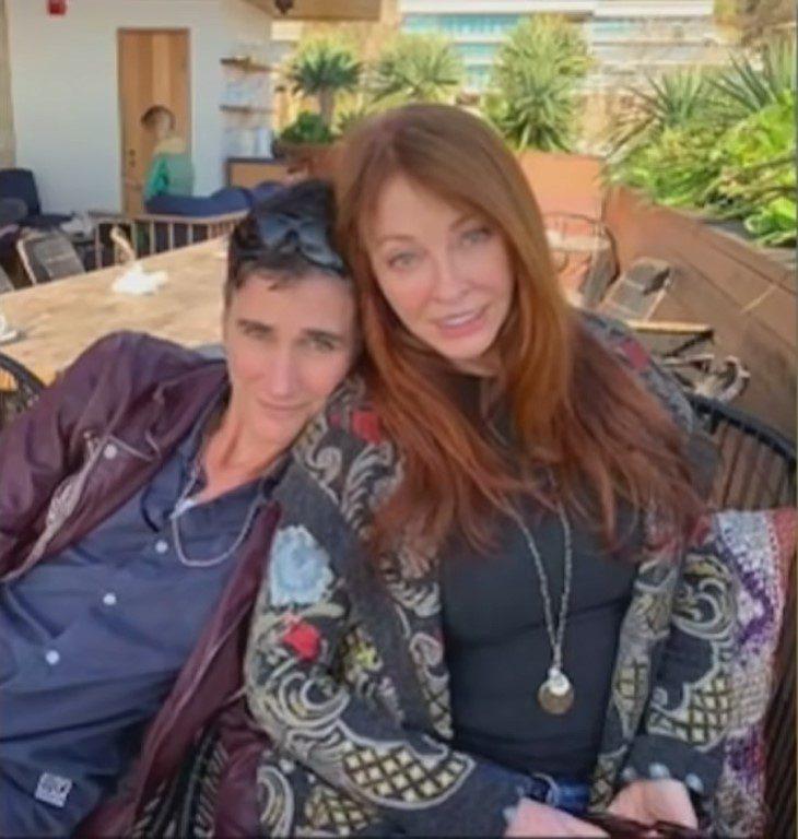 Elvira and her girlfriend Teresa
