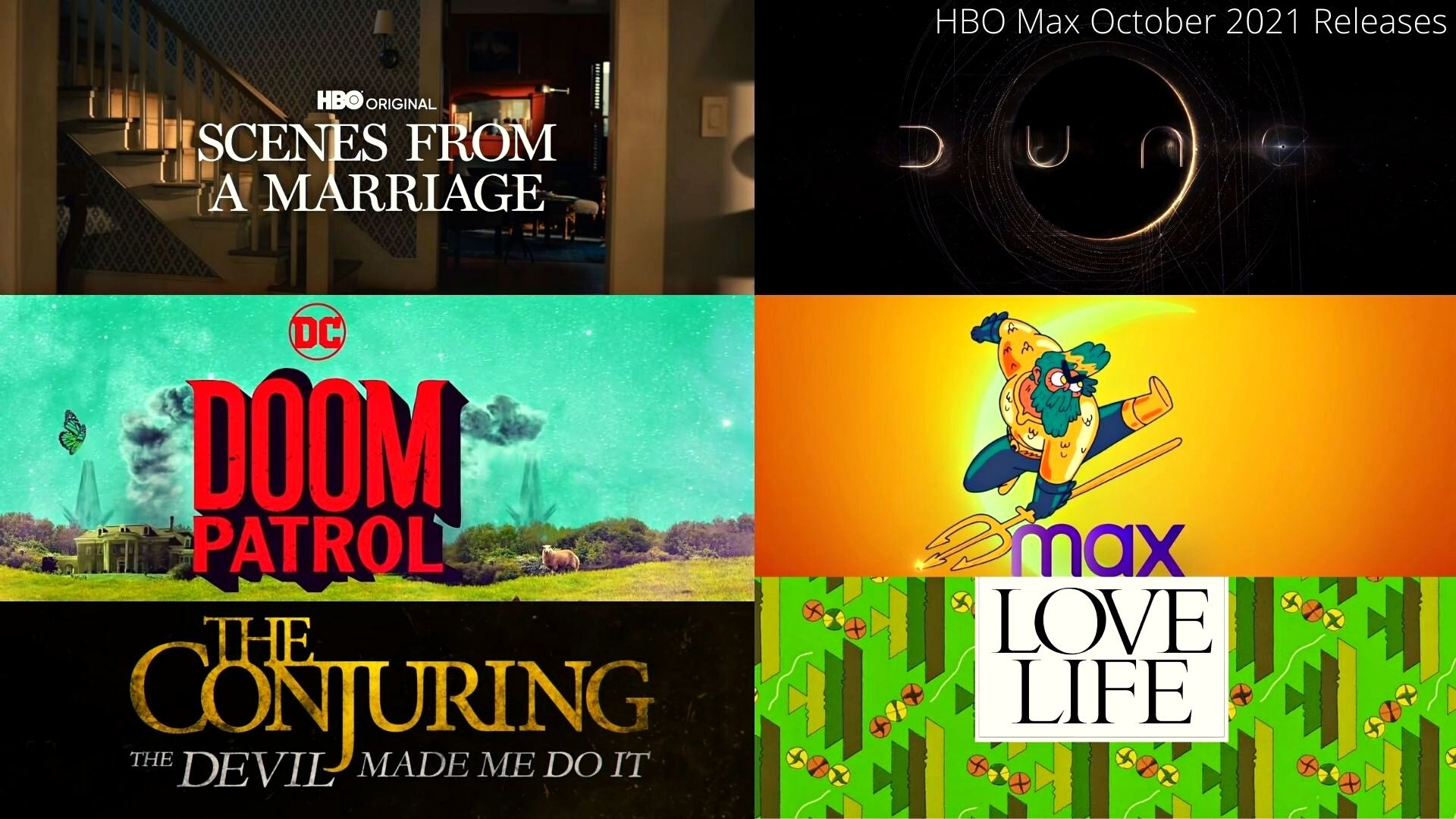 What's Coming To HBO Max In October 2021