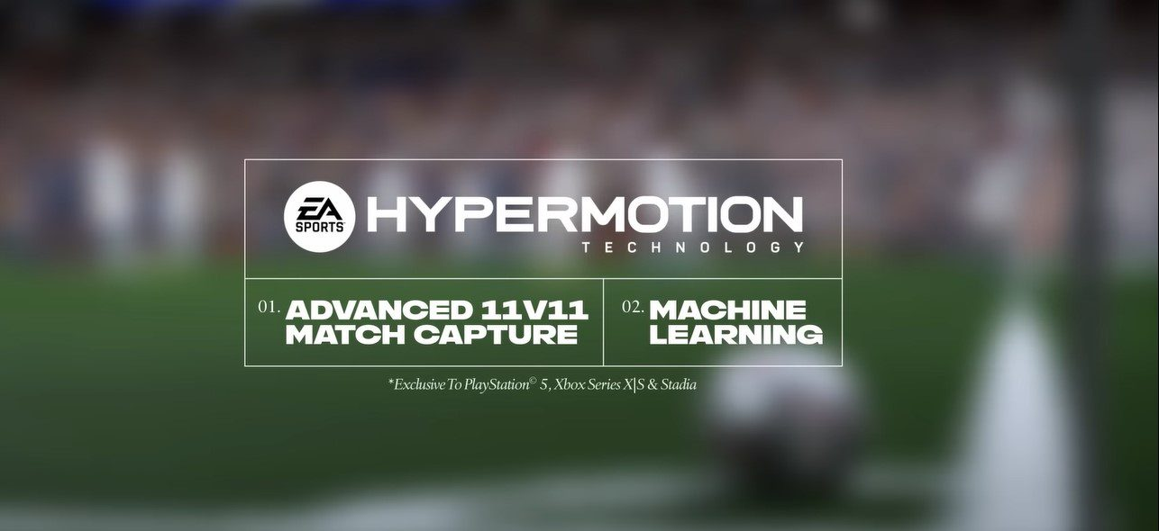 FIFA 22 Hypermotion poster