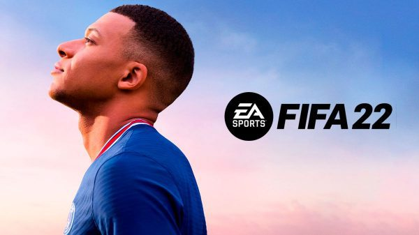 FIFA 22 poster Kylian Mbappe