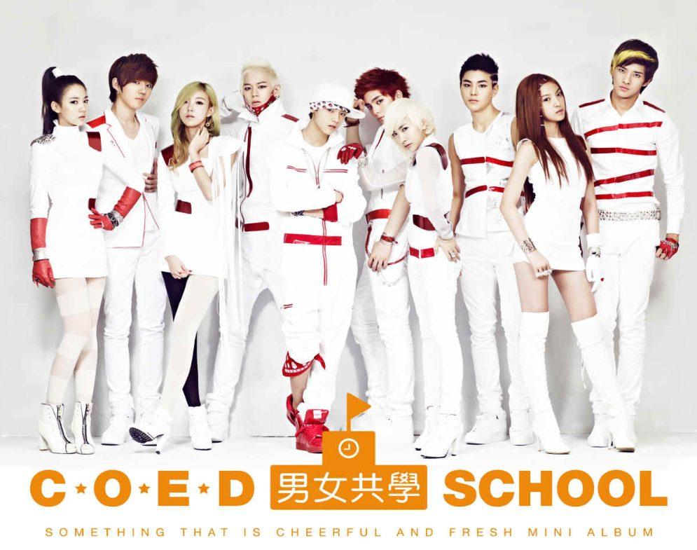 Coed School K-Pop Group
