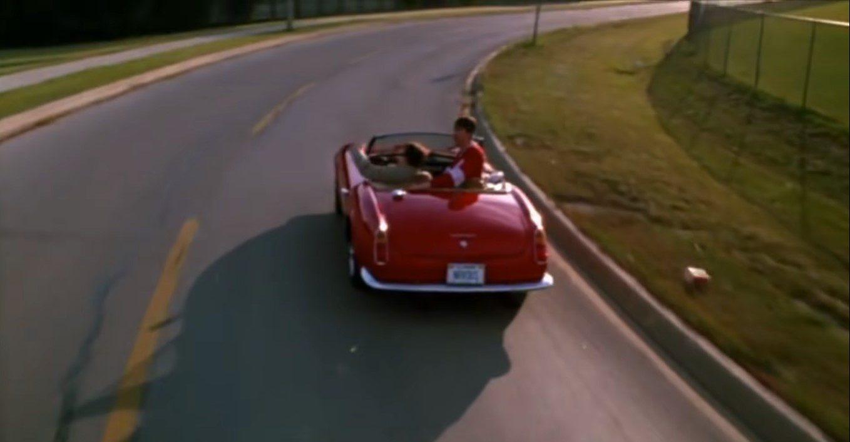 Ferris Bueller's day off red Ferrari