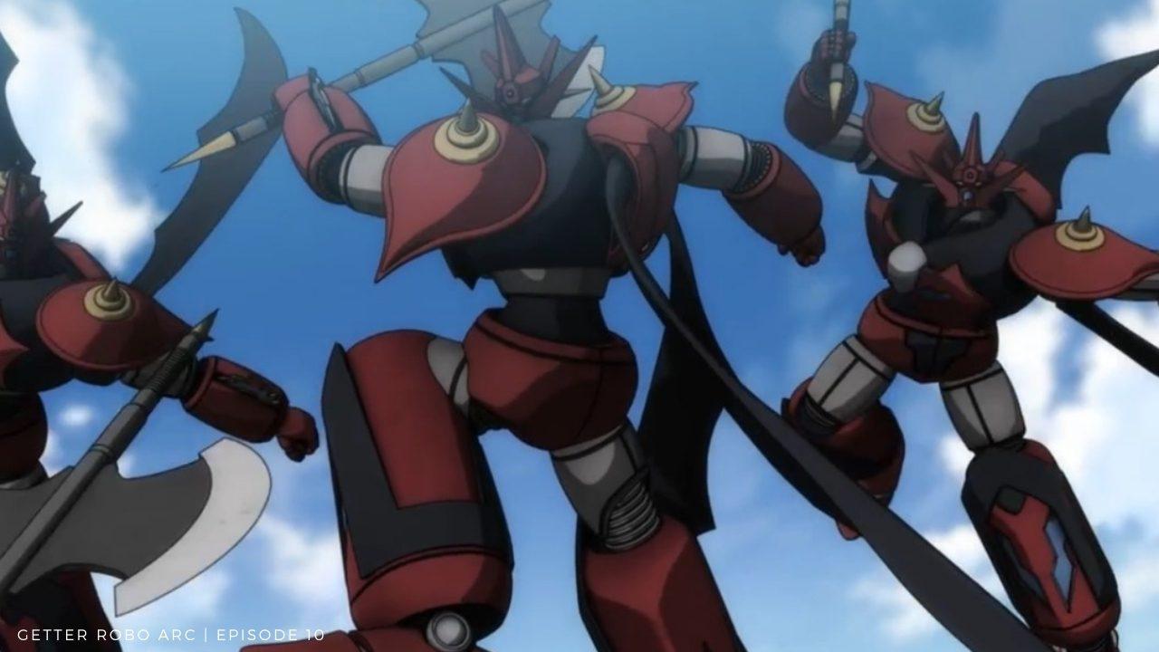 Getter Robo Arc Episode10