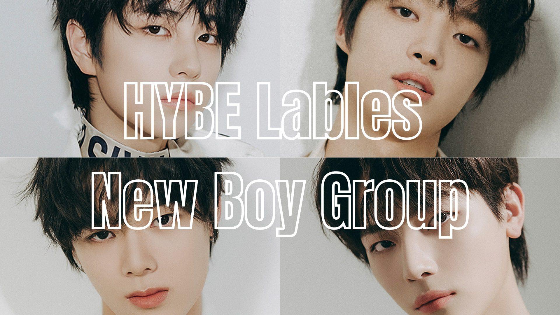 HYBE new boy group
